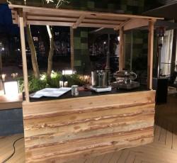 Zo goed als nieuw! Winterkraam/houtenkraam kopen (200x80cm)
